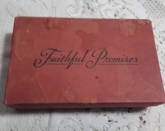 Faithful Promises Box of Rolled Bible Verses