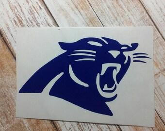Decals/Monograms/Football/Pop Warn/School Mascot/Football Team /Football Decal/Panthers Sticker/College TeamSticker/Football/Football Logo