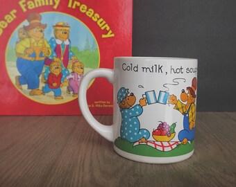 Vintage Mug, Berenstain Bear Mug, Vintage Berenstain Bears, Berenstain Bears Cup, Ceramic Mug, Princess House, Collectible Mugs, Children's