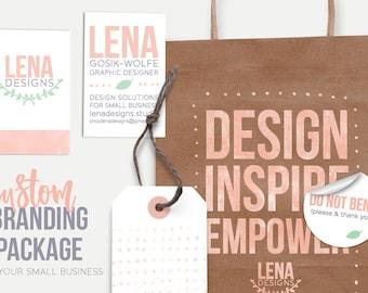 Custom Small Business Branding - Company Branding - Brand Design - Branding Services - Logo Design - Branding Kit - Custom Branding Expert
