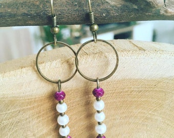 """Earring connector """"Circle"""" Vintage"""""""
