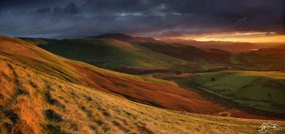 Skiddaw from Longlands Fell [Photographic Print]