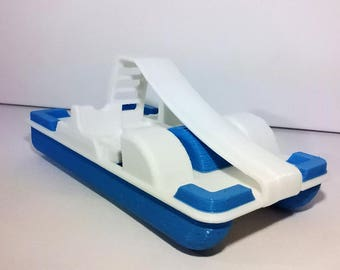Pedal with Modellino slide made of plastic available in various colors