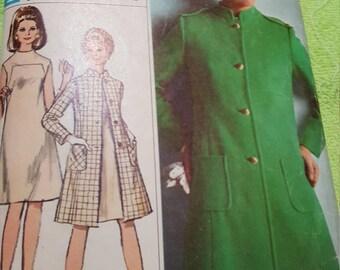 Simplicity Vintage 1967 #7261 size 12