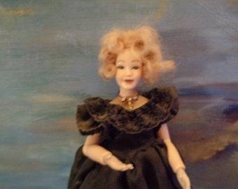 HEIDI OTT doll 14cm/90s/Famous label/New condition/Very rare/Complète