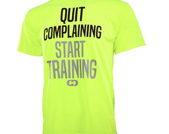 Quit Complaining Start Training Short Sleeve T-shirt, Sports T-Shirt, Softball Shirt, Basketball Shirt, Volleyball Shirt, Free Shipping!