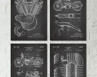 Motorcycle Gift Harley Davidson Baby Nursery Guy Gift Motorcycle Wedding Gift for Men Gift for Motorcycle Lover Gift Harley Art Decor S042