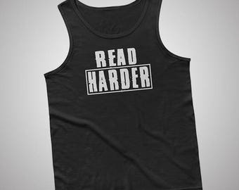 Read Harder Tank / T-Shirt