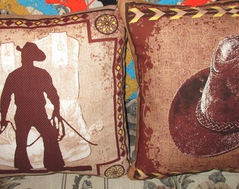 Cowboy Throw Pillows