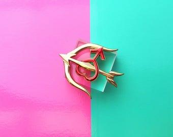 Mars Senshi Badge Pin