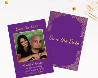 Save the date wedding cards, Indian save the date cards, Save our date, Photo save the date, Save the date templates, Indian wedding cards