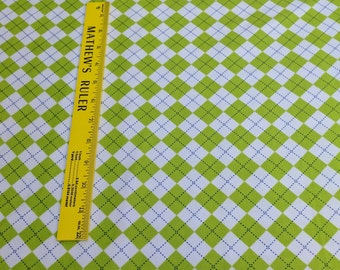 Remix-Kiwi Cotton Flannel Fabric Designed by Ann Kelle for Robert Kaufman Fabrics