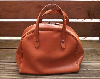BOTTEGA VENETA BAG · Bowling Bag · Big Handbag · Brown Leather ·Intrecciato