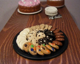 1:6 Scale Food - Cookie Tray - for Barbie Momoko, Blythe, Pullip, Fashion Royalty and other dolls - OOAK