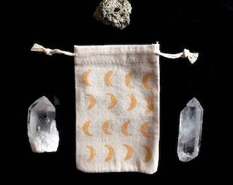 Little pouch - bag - Gold moon
