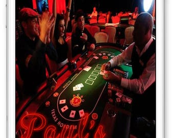 Custom Casino Night Snapchat Geofilter