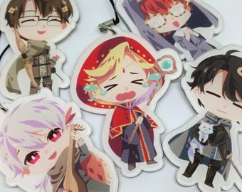 """Mystic Messenger: LOLOL ver. 2.5"""" Acrylic charm (Double-sided)"""