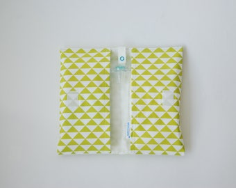 Change Kit - lime green Triangles