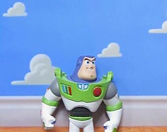 Toy Story Inspired Buzz Lightyear 3-D Effect Framed Wall Art