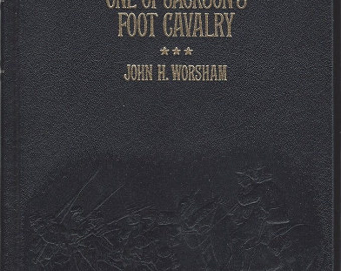 Time-Life: Collector's library of the Civil War-One of Jackson's Foot Cavalry by John h Worsham LEATHER BOUND