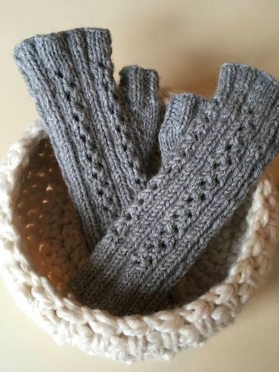 Wrist Warmers / Hobbyist/Reader's Mitts