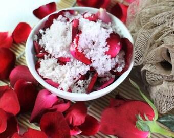 1kg ROSE PETAL Aromatherapy Bath Salts