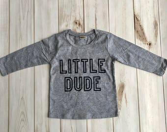 Little Dude, Boys Valentines Shirt, Toddler Boy Valentines Shirt, Toddler Boy Shirt, Infant Boy Shirt, Toddler Shirt