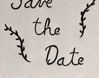 Personalized Save The Date Pumpkin