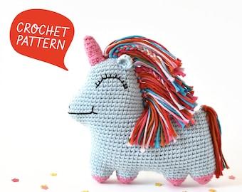 Uni Queen Crochet Pattern   Tiny Curl Amigurumi Pattern, Unicorn Crochet Pattern, Unicorn Amigurumi Pattern