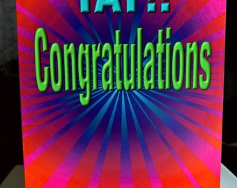 Congratulations Special Occasion Greeting Card