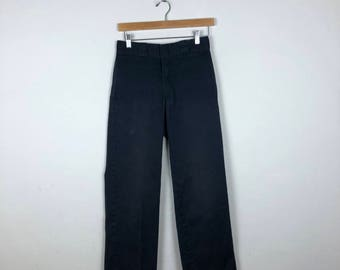 Vintage Black Dickies Pants Size 26
