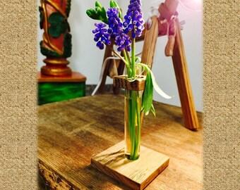 Test tube vase etsy uk for Test tube flower vase rack