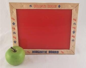 Vintage Romper Room Magnetic Board