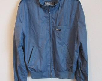 Dusty Blue MEMBER'S ONLY Jacket