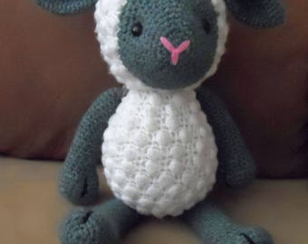 Soft Toy - Sheep (Crochet,Amigurumi)