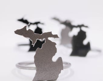 Michigan Napkin Rings