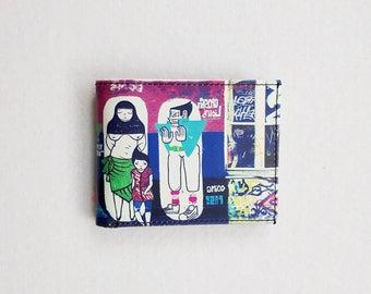 Billfold wallet / Birthday gift / Pocket wallet / Friend Gift / Gift idea / Boyfriend gift / Girlfriend gift / Gift for him / Gift for her