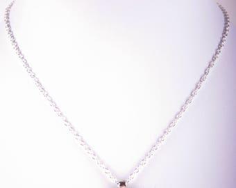 Transparent Gold Enamelled Pendant Necklace, Sterling Silver