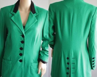 Fantastic 90s St-Patricks Green Blazer