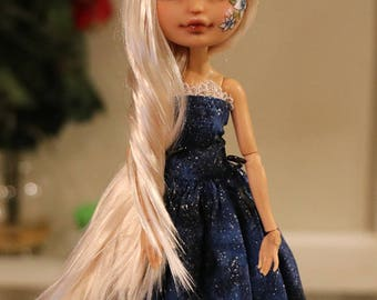 RESERVED Ever After High Doll Repaint Faceup OOAK Evelynn Ella