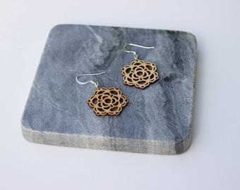 Barbara | Small Mandala Earrings
