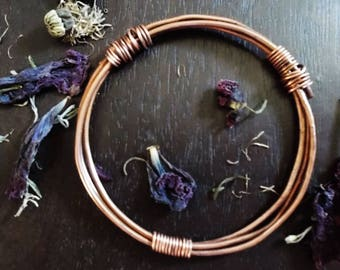 TROELLOG TYWYLL : Copper Bangle