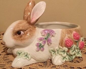 Fitz & Floyd Botanical Bunny