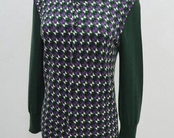 Y's YOHJI YAMAMOTO Vintage 90's Y's Yohji Yamamoto Made In Japan Cardigan Shirt Blouse Size 2
