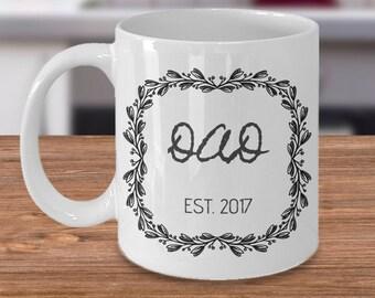 New Dad Coffee Mug, Funny New Dad Gift, New Dad Funny, First Time Dad, New Daddy Mug, New Daddy Gift, New Dad Mug, Gift for New Daddy, 2017