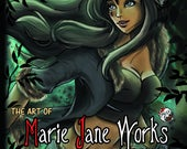 ART BOOK: The Art Of Marie Jane Works ~ 2016 Edition SIGNED
