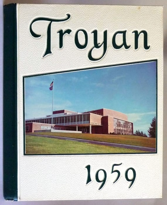 Woodrow Wilson High School Yearbook (Annual) 1959 - The Troyan - Portland, Oregon OR Multnomah County