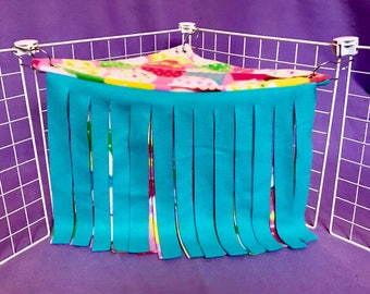 Made to Order Double Layer Cupcake Corner Fleece Forest! For Guinea Pigs, Hedgehogs, Rats, Ferrets, Small Animals!