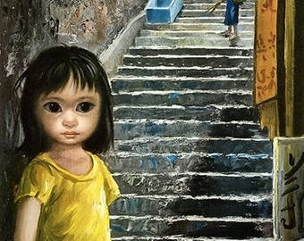 Girl of China By Margaret Keane
