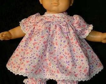 American Girl Bitty Baby Dress with Bloomers